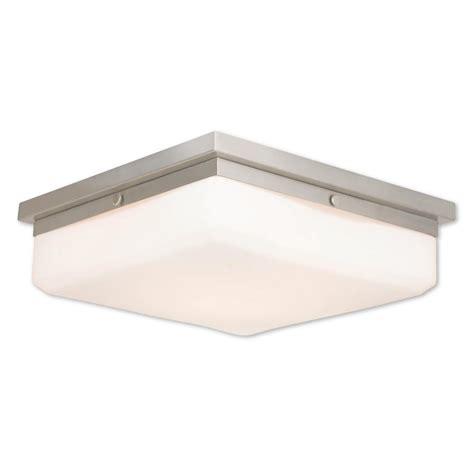 titan lighting aspen collection 1 light brushed nickel led