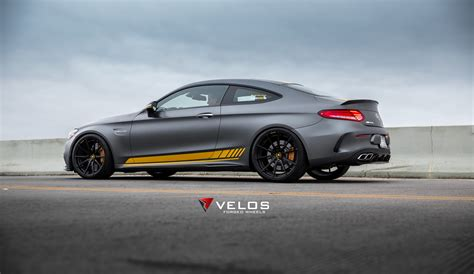 Mercedes Amg C63s Edition 1 Coupe On Velos S10 Forged