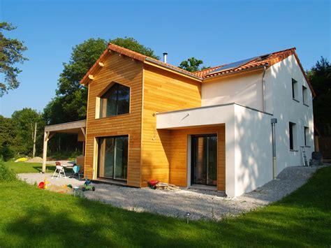 maison en bois auvergne b 226 ti concept 233 cologique le toit terrasse en auvergne