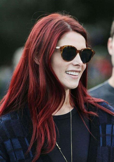 couleur de cheveux rouge nos idees de nuances