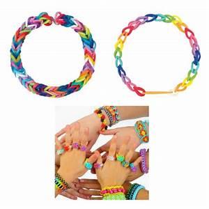 Bracelet Avec Elastique : id e cadeau pour enfant fille de 6 ans 12 ans jeux et jouets cadeaux d 39 anniversaire ou de ~ Melissatoandfro.com Idées de Décoration