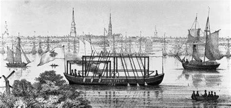 Barco A Vapor Historia by John Fitch Y Su Barco De Vapor Historia La Revista