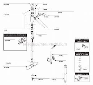 Moen Ca87316w Parts List And Diagram   Ereplacementparts Com