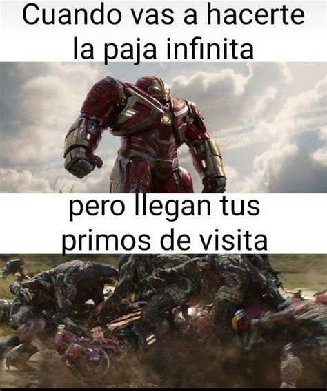 infinity war meme subido por emmpool memedroid
