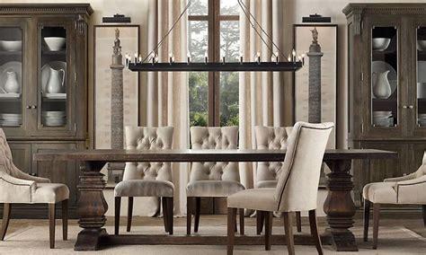 restoration hardware dining room tables marceladick