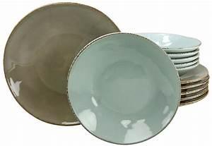 Geschirr Set Steingut : creatable tafelservice steingut 12 tlg oslo otto ~ Watch28wear.com Haus und Dekorationen