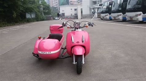 Pink Color Mini Electric Motorcycle Sidecar Purchasing