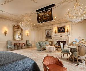 Attractive, French, Living, Room, Design, Ideas