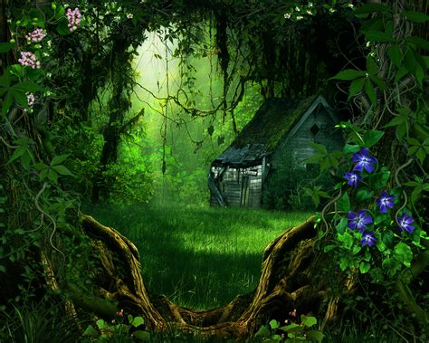3d Wallpapers Trees by Digital 3d Phantasmagoria Trees Forest Flowers