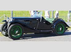 MG TC Green Side