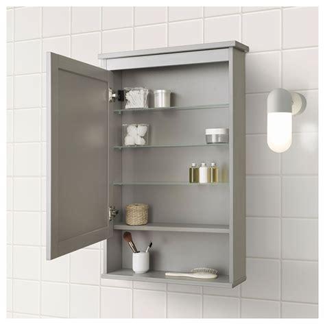 Ikea Bathroom Medicine Cabinet by Ikea Hemnes Mirror Cabinet With 1 Door Gray Products