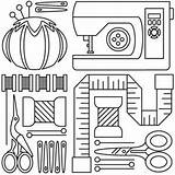 Sewing Machine Embroidery Hand Pages Applique Drawing Patterns Tools Template Sew Adults Urbanthreads Coloring Clip Designs Room Collage Paper Pattern sketch template