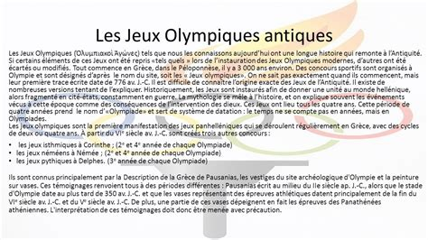 qui a cree les jeux olympiques modernes redazione a cura prof a colacino ppt t 233 l 233 charger