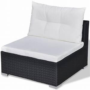 Polyrattan Lounge Set : der vidaxl 28 tlg essgruppe lounge set schwarz poly rattan online shop ~ Whattoseeinmadrid.com Haus und Dekorationen