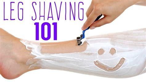 LEG SHAVING 101 | PREVENT RAZOR BURN & BUMPS | Shaving ...