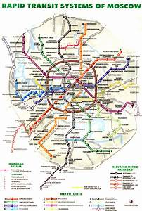 Moscow Subway Map Moscow • mappery
