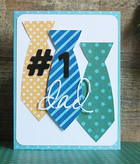 handmade fathers day cards pebbles