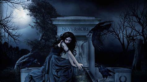 gothic fantasy girl hd wallpaper background image