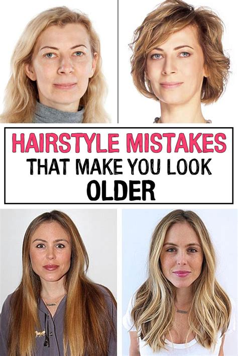 what hair color makes you look younger hairstyle mistakes that make you look iwomenhacks