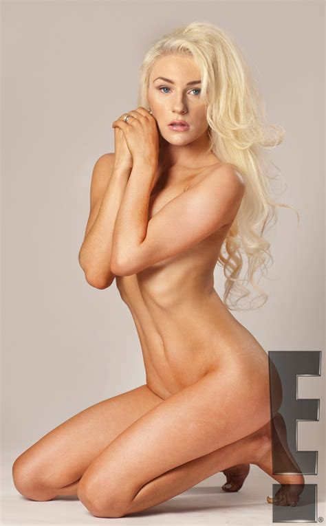 Spilling Out Courtney Stodden Puts Her Very Large Assets On Display In A Tiny String Bikini