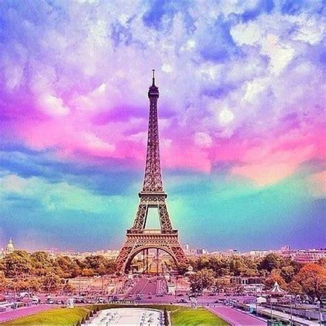 Beautiful Paris Sunset Eyfel Kulesi Seyahat Ve Paris