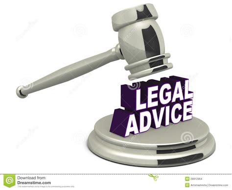 Legal Advice Stock Images