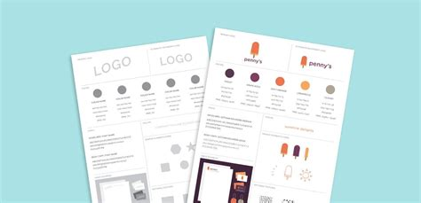 brand guide template freebie brand style guide template every tuesday