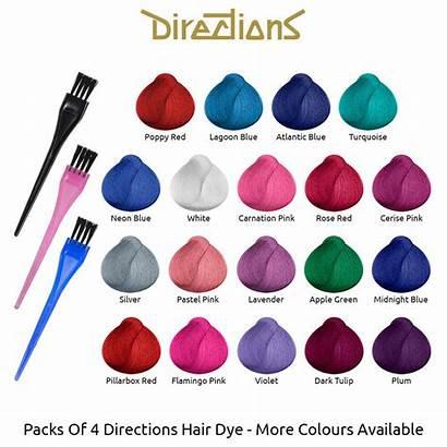 Directions Riche Semi Dye Permanent Colours Colour