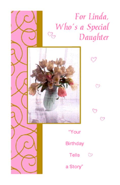 wonderful daughter greeting card happy birthday