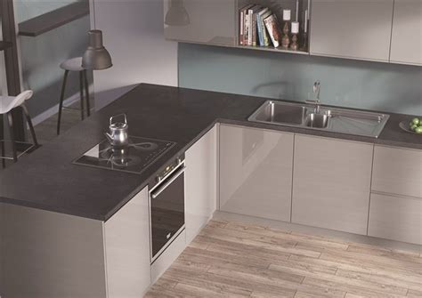 EGGER Kitchen Worktops: F081 ST82 Pegasus Anthracite A