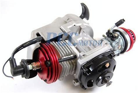 49cc 2 stroke big bore engine motor 25h sprocket pocket