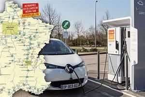 Borne Electrique Gratuite : o recharger sa voiture lectrique sur autoroute voici la 1 re carte de france ~ Medecine-chirurgie-esthetiques.com Avis de Voitures