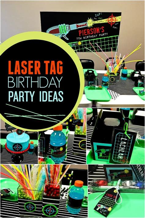 tag theme ideas for 1st birthday party for boy a boy 39 s laser tag birthday party spaceships and laser beams