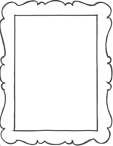 clipart frames images  pinterest frames activities  letters