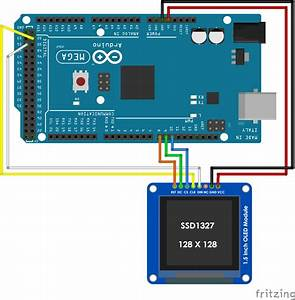 Finally A Bigger Oled Display To Use With An Arduino  U2013 128
