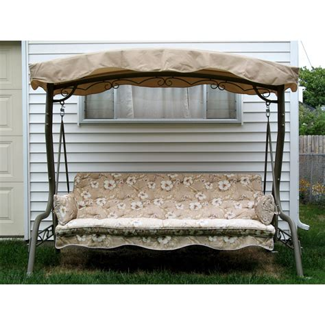 walmart courtyard creations replacement swing canopy