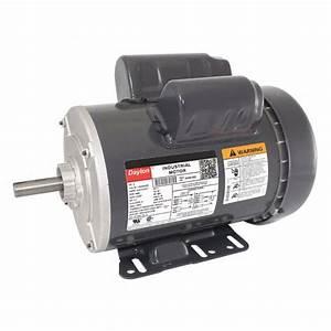 Dayton 2 Hp General Purpose Motor Capacitor Run 3450