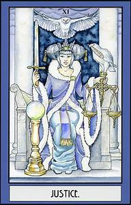 """""Justice"" Tarot Card"" Posters by WinonaCookie Redbubble"
