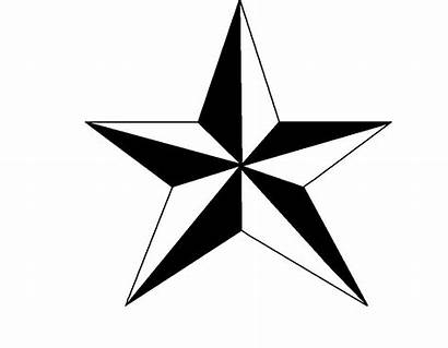 Nautical Star Clipart Clip Coloring Outline Pages