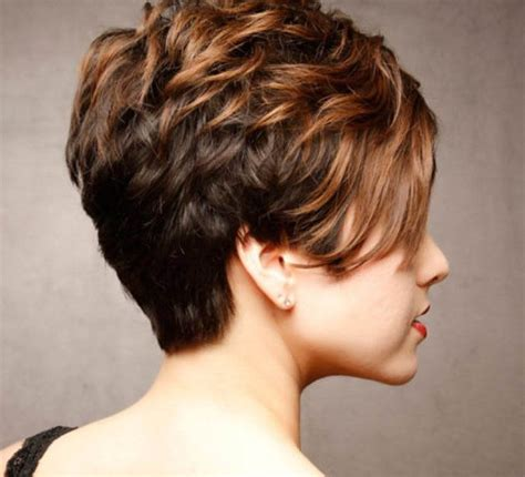 short stacked hairstyles archives  women