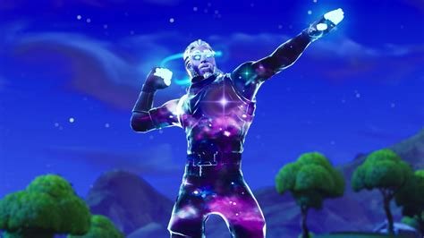 Fortnite Galaxy Skin Wallpapers