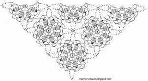 Ergahandmade  Crochet Shawl   Diagram
