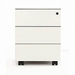 Caisson Rangement Bureau : bureau kristalia blanc rangement bureau ~ Edinachiropracticcenter.com Idées de Décoration