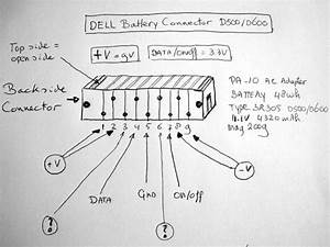 Dell D500    D600 Battery Pinout  Dell D500    D600 Battery Pinout Free Service Manuals
