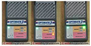 Optimate 3 Battery Charger Review