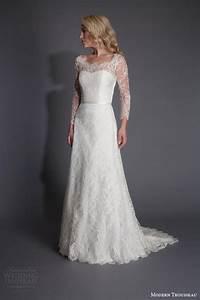 modern trousseau spring 2016 wedding dresses wedding With modern lace wedding dresses
