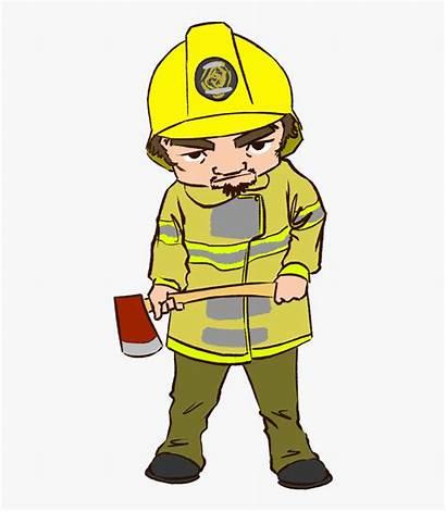 Fireman Clipart Sad Transparent Kindpng
