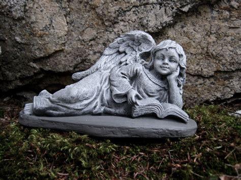 Angel Girl Reading Concrete Angel Garden Statue Cement Angel