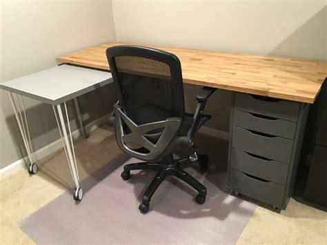 ikea hack custom transforming home office desks ikea
