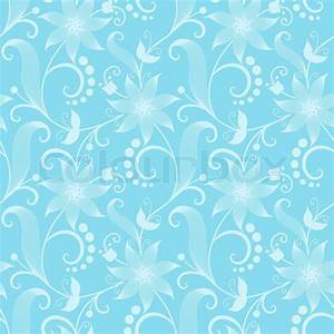 Vector flower seamless pattern background Elegant texture